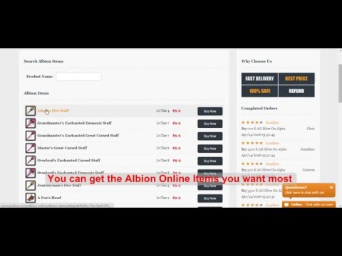 Buy Cheap Albion Online Gold At AOSilver.com